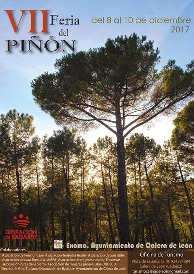 Calera de León celebrará su ''VII Feria del Piñón'' en el mes de diciembre