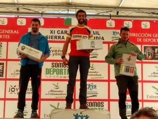 El segureño Joaquín Díaz campeón del XI Trail Media Maratón Sierra de Tentudía