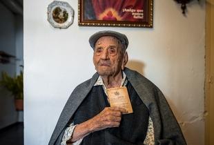 El próximo día 13, Francisco Núñez Olivera ''Marchena'', hombre más longevo del mundo con 113 años, será nombrado hijo predilecto de Bienvenida