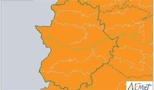 Alerta naranja por el huracán Ana de 21:00h a 6:00h en la comarca