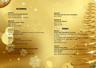 Fuentes de León presenta una amplia programación navideña