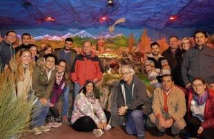 Tras más de dos meses de trabajo, mañana abre al público el Belén Artístico Tradicional de Bodonal de la Sierra