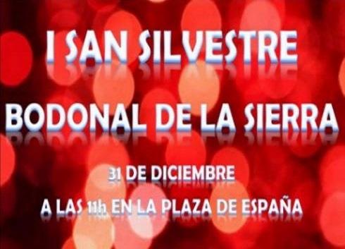 Bodonal celebrará su I San Silvestre con cuatro categorías