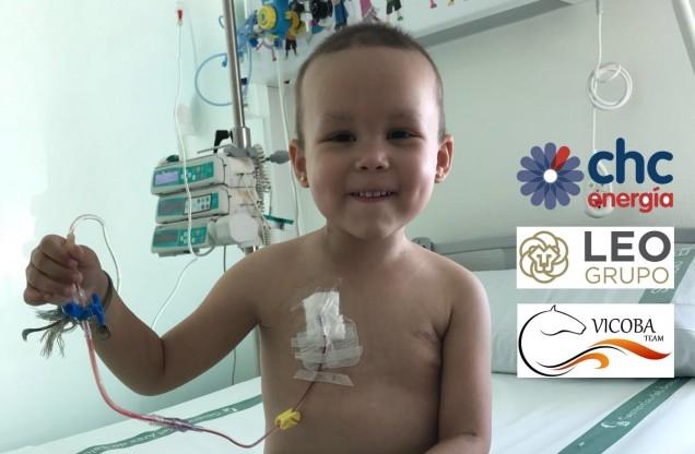`Irene, va por ti´, reto dedicado a una niña de Monesterio con leucemia