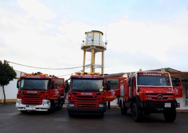 El Parque de Bomberos de Fregenal contará con un nuevo camión forestal