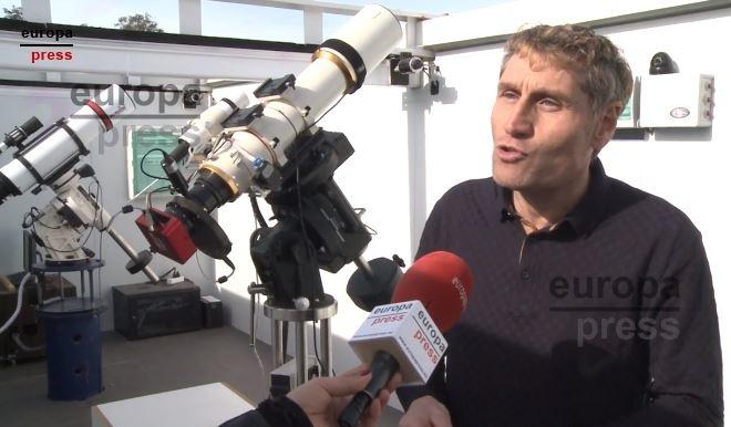 El complejo de astroturismo `e-EyE´ en Fregenal permite observar el cielo extremeño `desde cualquier lugar del mundo´