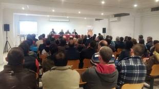 Presentado el Plan de Regeneración de Aguablanca ante alcaldes y empresarios de Calera, Monesterio y Montemolín