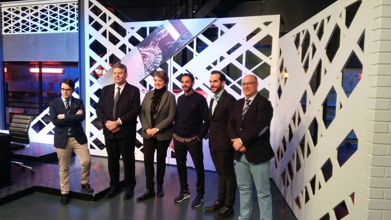 La Diputación de Badajoz ha participado en el programa taurino `El Kikirikí´ de Movistar+