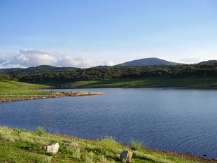 El Pantano de Tentudía recoge 114 litros por metro cuadrado y aumenta 70 cm en las últimas 24 horas