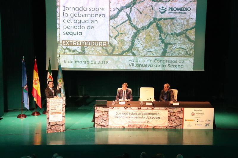 La Mancomunidad de Tentudía participó en unas jornadas sobre la sequía de la Diputación