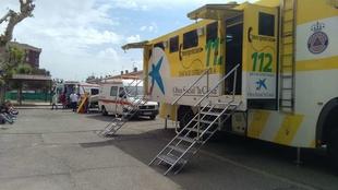 El 112 activa este miércoles la alerta naranja en el sur de Badajoz ante la previsión de fuertes rachas de vientos