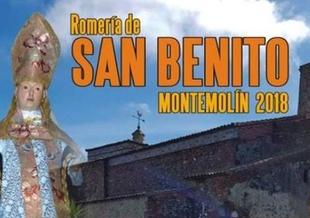 Montemolín celebrará su Romería de San Benito 2018 este fin de semana