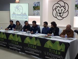 Presentada la XIII Titán Tentudía 5 Miles en la mañana de ayer