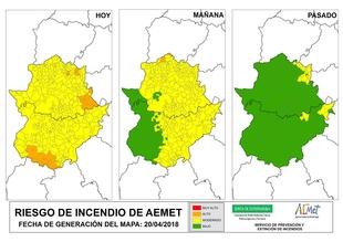 Infoex alerta del riesgo de incendio en los pueblos del sur de Badajoz