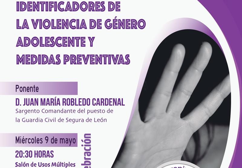 El sargento de Segura de León ofrecerá una charla sobre la violencia de género adolescente en el Instituto