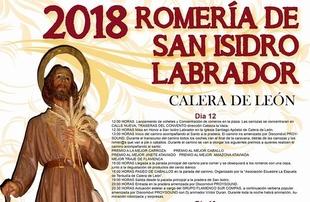 Espectacular programación para San Isidro en Calera de León