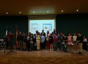 `Eurofrexnenses´ premiados en el XII Concurso Escolar Día de Europa