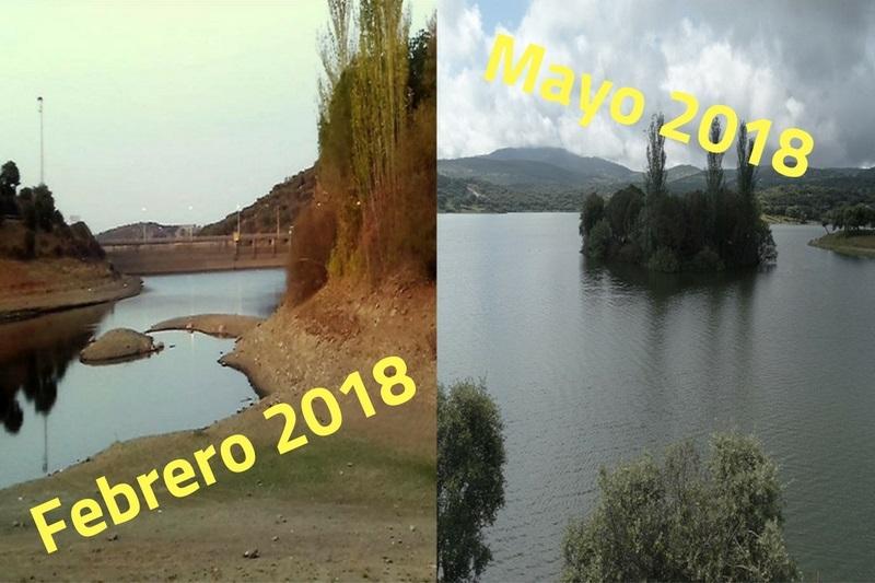 Pantano de Tentudía: 3 meses y 3.000 millones de litros más