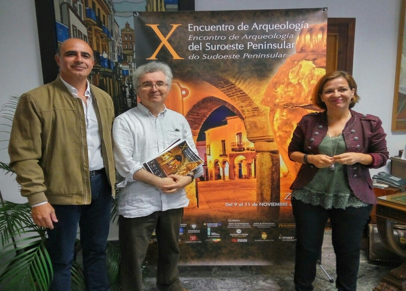 El yacimiento céltico de Capote en Higuera la Real presente en el X Encuentro de Arqueología del Suroeste Peninsular