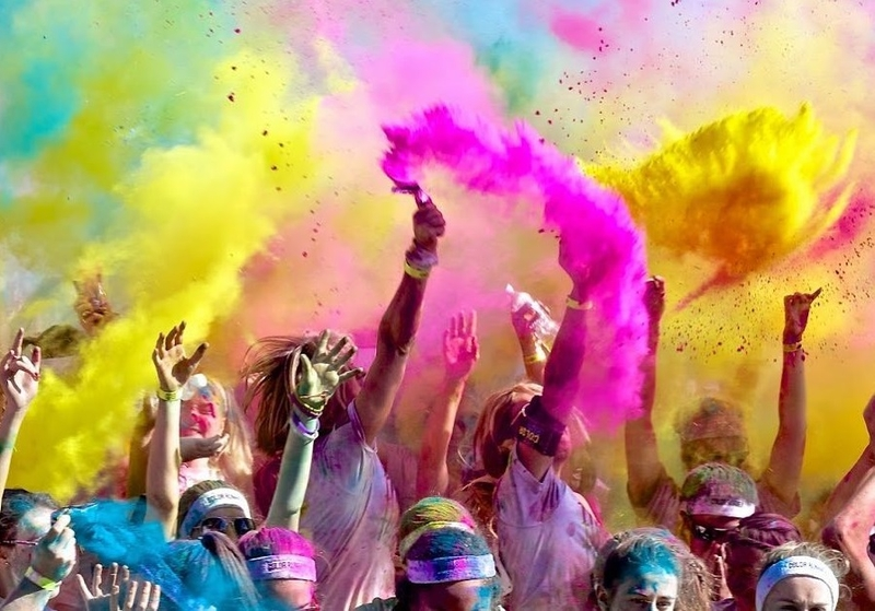 The Color Run en Monesterio, todo un ejemplo de lucha contra la leucemia