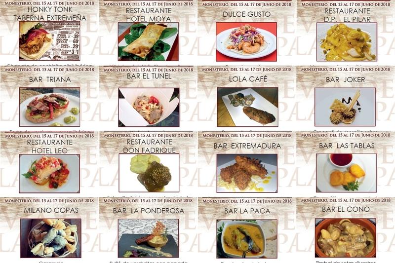 16 delicias darán sabor a la IX Vía de la Tapa en Monesterio ¡Conócelas!