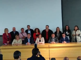 CEDECO-Tentudía estuvo presente en el cambio de presidencia de REDEX