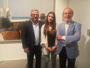 El pintor monesteriense Eduardo Naranjo inaugura exposición en Madrid