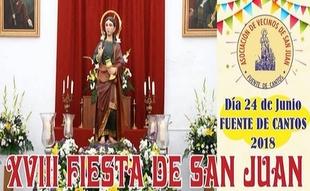 Fuente de Cantos celebra la XVIII Fiesta de San Juan este fin de semana