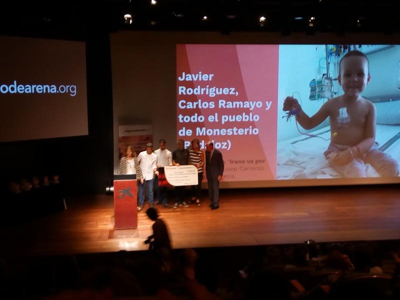 Javier Rodríguez, Carlos Ramayo y el pueblo de Monesterio reciben el premio a la `Persona más solidaria´