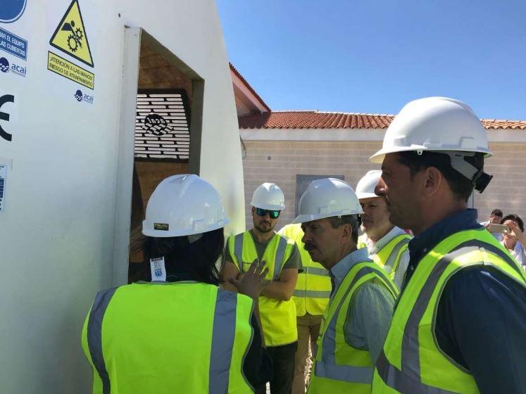 La nueva estación depuradora de aguas residuales de Segura de León entrará en funcionamiento el próximo mes