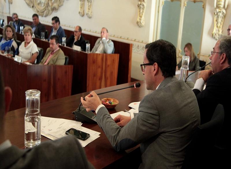 Solidaridad con los familiares de Manuela Chavero y vecinos de Monesterio en el Pleno de la Diputación de Badajoz