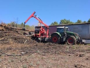 El INFOEX recomienda aplazar la actividad con maquinaria agrícola en los días de riesgo muy alto y extremo de incendios