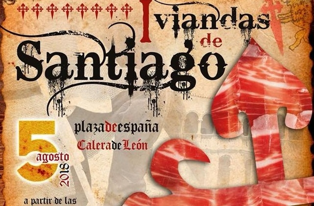 Un bocadillo gigante de jamón tomará la forma de la Cruz de Santiago en Calera de León