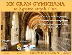 La A.J.M `La Sotarraña´ celebra la XX edición de la Gran Gymkhana en Fuentes de León