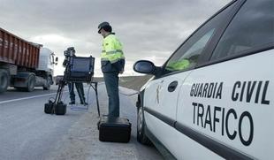 Tráfico pone en marcha a partir del lunes una nueva campaña de control de velocidad en las carreteras extremeñas