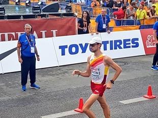 El llerenense Álvaro Martín, campeón de Europa en los 20 kilómetros marcha