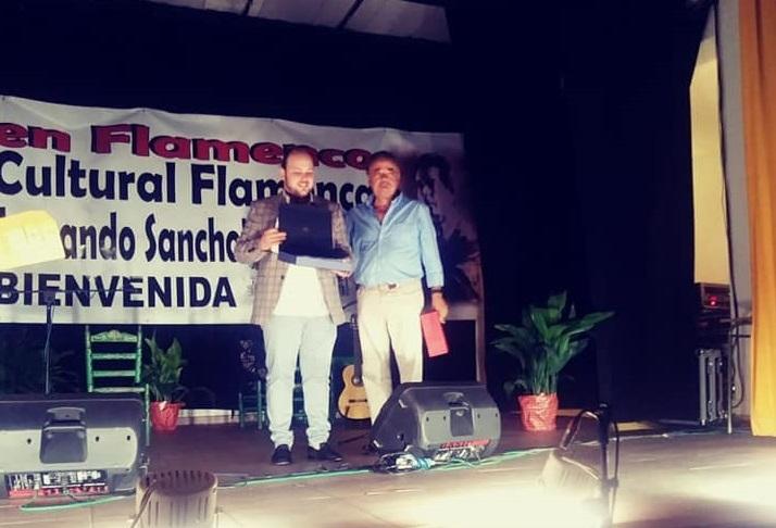 `El Perrete´ ganador del I Certamen de Fandangos en Bienvenida