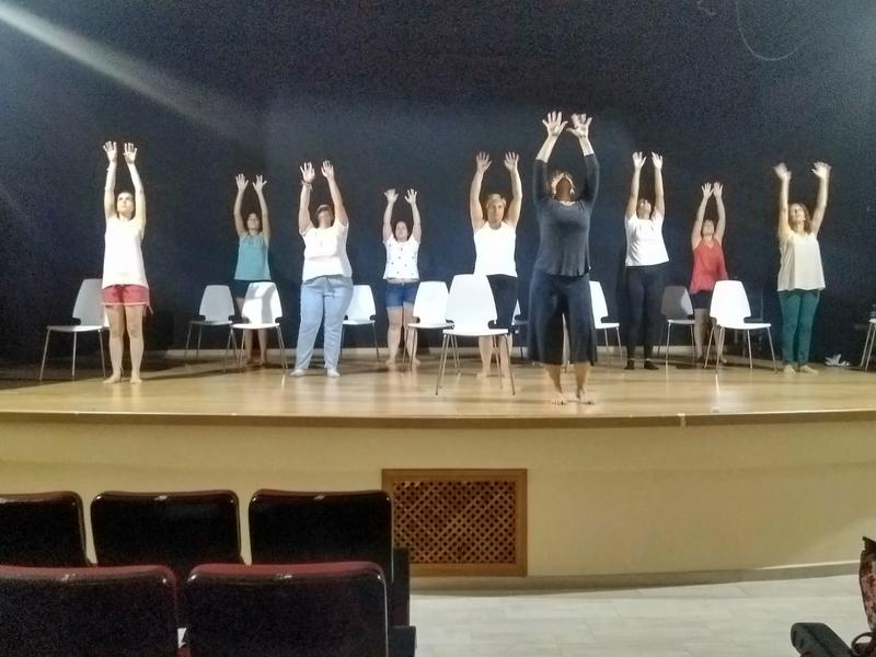 Danza en Movimiento 2018 ha recorrido Bodonal, Fuentes de León, Cabeza la Vaca y termina en Segura de León