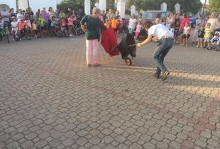 Ayer se dieron cita en Bienvenida `Alumnos de la Escuela de Tauromaquia de la Diputación´
