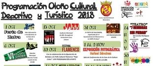 Monesterio presenta la `Programación Otoño Cultural, Deportivo y Turístico 2018´
