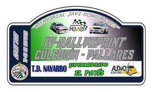 El IV Rallysprint Culebrín-Pallares Memorial `Javi Domínguez´ recorrerá parte de la Comarca de Tentudía