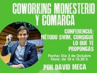 Conferencia del nadador David Meca en el Programa Coworking