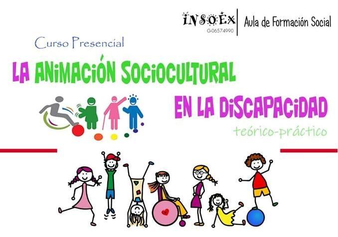 Curso de `La Animación Sociocultural en la Discapacidad´ en Calera de León