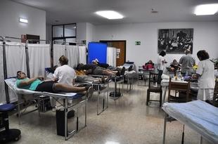 Los extremeños donaron 22.000 litros de sangre el año pasado, lo que los sitúa los primeros del país