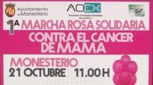 `Primera Marcha Rosa Solidaria Contra el Cáncer de Mama´ en Monesterio