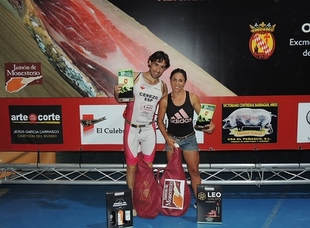Antonio Cerezo y Remedios Mendoza campeones absolutos del VI Duatlón Cross de Monesterio