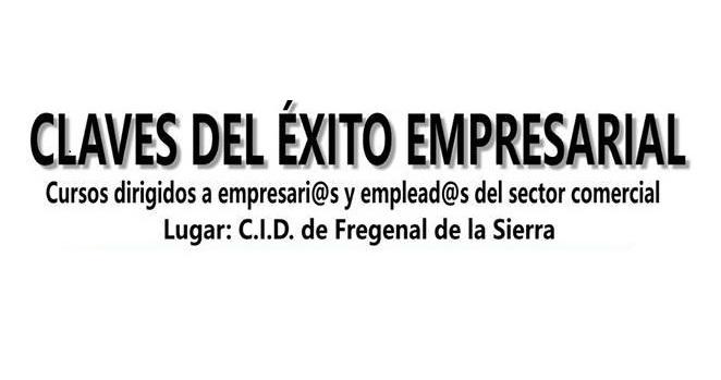 Nuevos cursos para empresarios y empresarias y empleados y empleadas del sector comercial en Fregenal de la Sierra