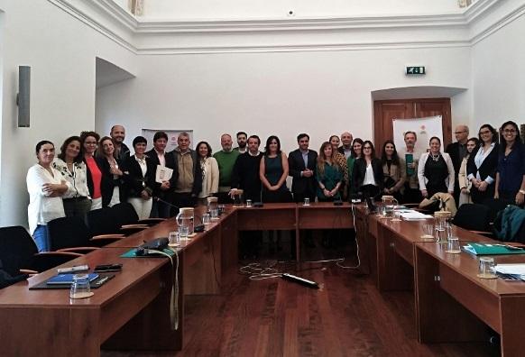 Los socios de la Red URBANSOL, de la que Fregenal de la Sierra forma parte, se reúnen para tratar sobre el estado de ejecución del proyecto