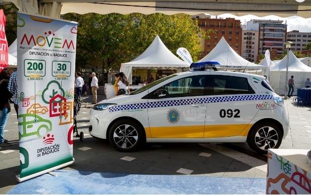 Fuentes de León entre los primeros municipios en obtener vehículos eléctricos en el marco del Plan Movem de la Diputación de Badajoz