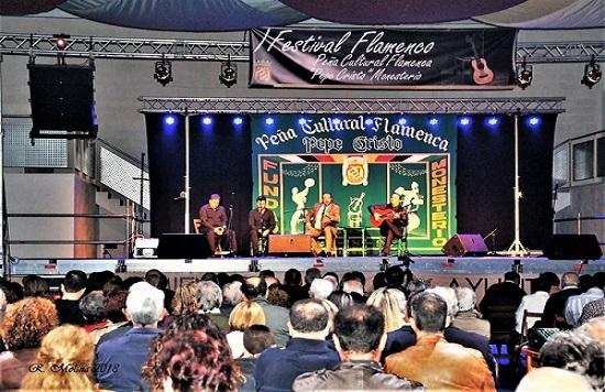 Gran éxito en el I Festival Flamenco de Monesterio